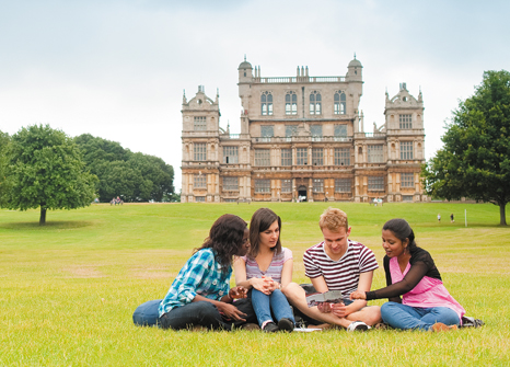 Students at Wollaton Park