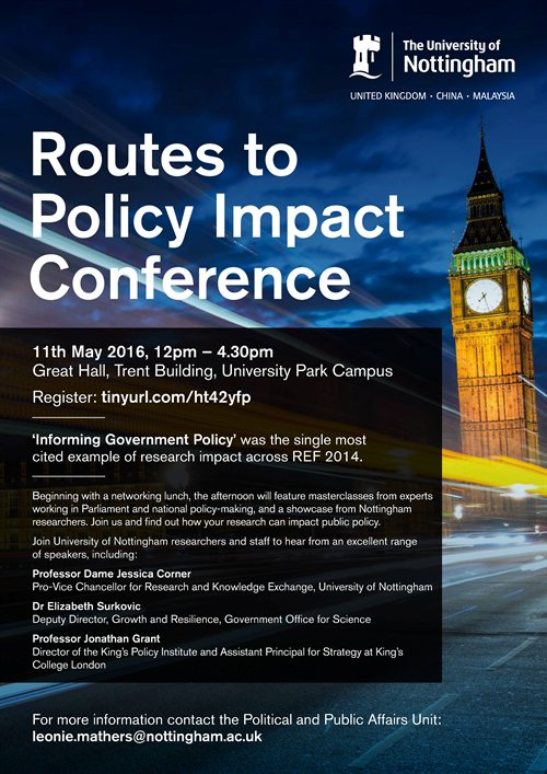Routes to policy impact