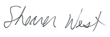 Vice-Chancellor Professor Shearer West signature