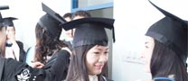 Ningbo's first graduation