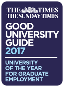 University of the Year 2017 Graduate Employment