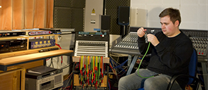Music students have access to traditional and technical facilities