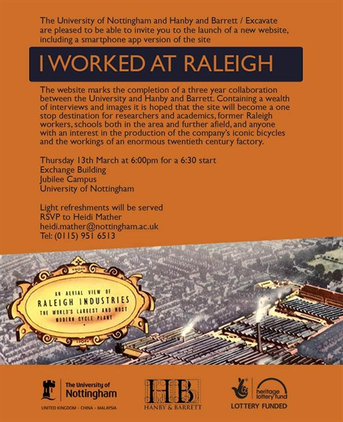 raleigh web launch