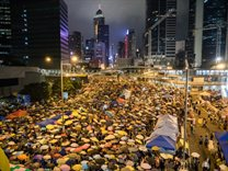 Hong Kong during the Umbrella Revolution by Pasu Au Yeung, Creative Commons License