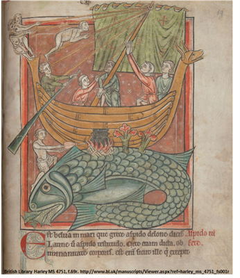 British Harley MS 4751, f.69r