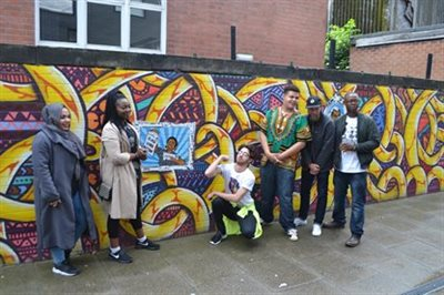 C3r and the new art exchange unveil nottingham 39 s first for Black history mural