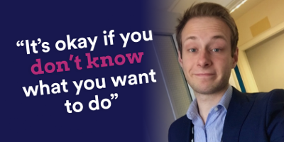 "Daniel Taylor ""It's okay if you don't know what you want to do"""