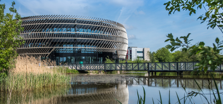 External view of the Ingenuity Centre, Jubilee Campus