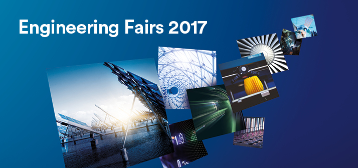 Advert for the Engineering Careers Fairs 2017