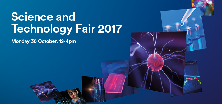 Advert for the Science and Technology Fair 2017