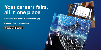 Advert for CareersFair App