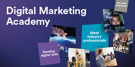 Digital Marketing Academy web banner