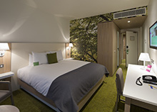 A double room at the Orchard Hotel