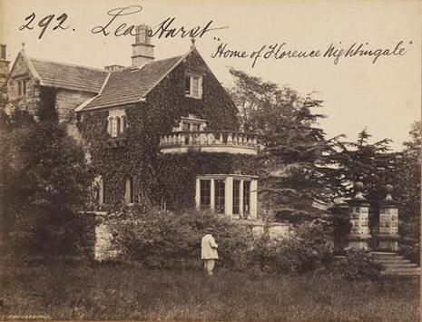 Frith Lea Hurst, home of Florence Nightinale