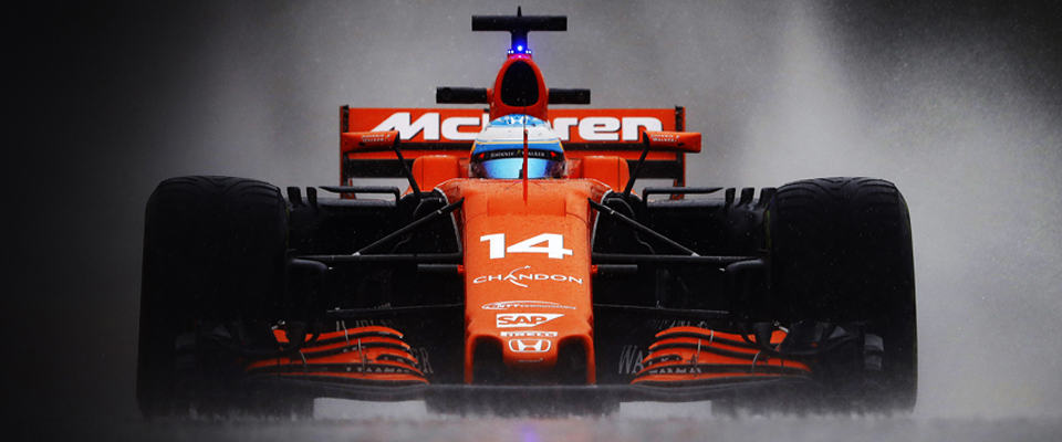 Behind the scenes at McLaren