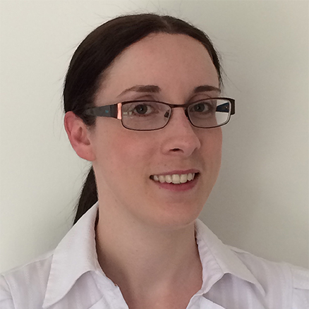 Amanda Goodwin smiling at the camera