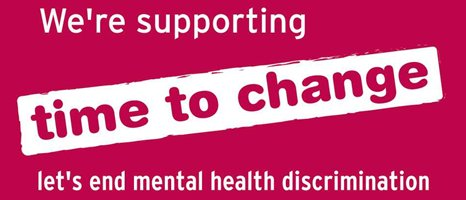 We're supporting the Time to Change campaign