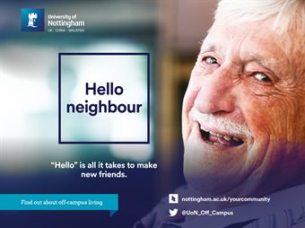 Halls to Home Campaign - Hopper - elderly