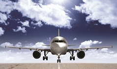 Aerospace Technologies - plane on runway (dreamstime stock image)