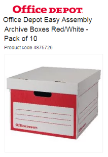 Archive box - Office Depot