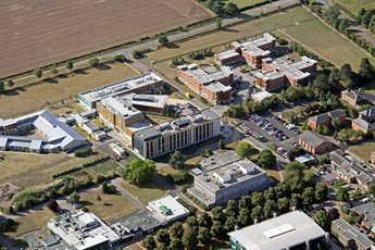 Sutton Bonington Aerial View