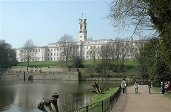 Trent Building and lake
