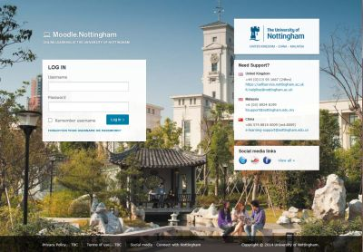 New Look for Moodle