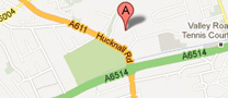 Google map to Nottingham City Hospital