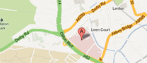 Google map to Queen's Medical Centre