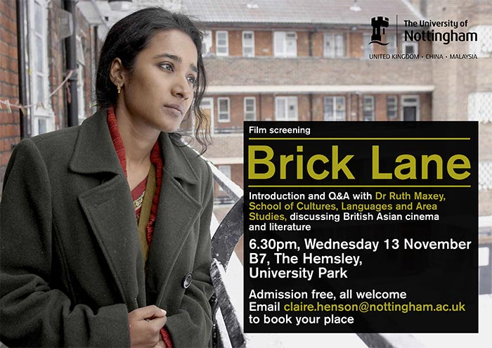 brick lane film belonging Psychoanalytic roots of non-belonging in monica ali's brick  brick lane was phenomenally successful, and was made into a film in 2007.