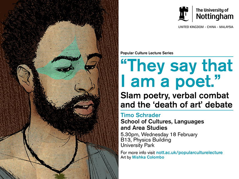 They say that I am a poet'': slam poetry, verbal combat and