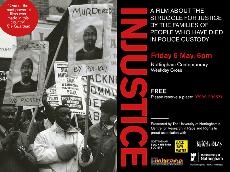 an analysis of the movie about injustice Film: this lesson plan is designed to be used in conjunction with the film,  inheritance,  post online their analysis of complex questions related to  bystanders.