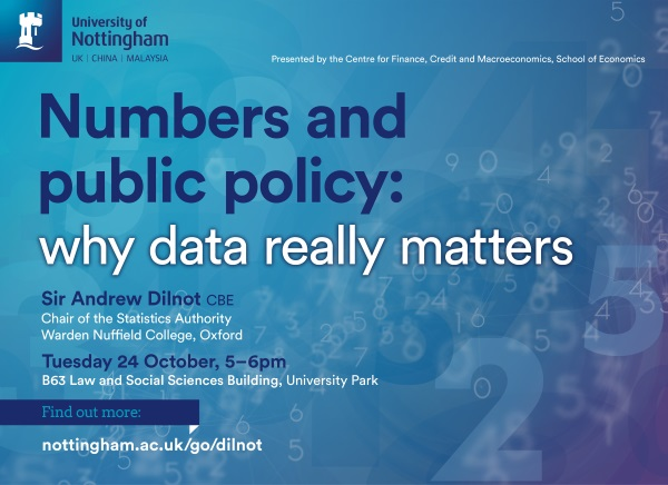 Numbers and public policy lecture