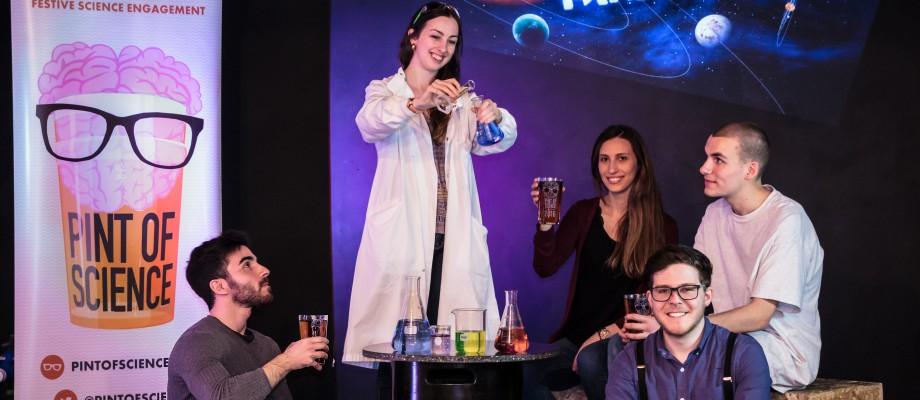 Pint of Science Festival 2018 - The University of Nottingham