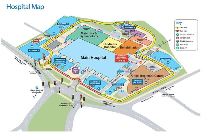 Royal Derby Hospital Map Derby Royal Hospital Map | Gadgets 2018
