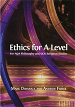 ethics for A level book cover