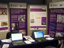 AHRC Connected Communities Showcase stand