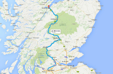 Lochs and Glens route - 380x250