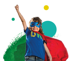 Join our superhero walk