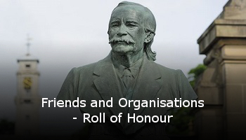 Friends and Organisations - Roll of Honour