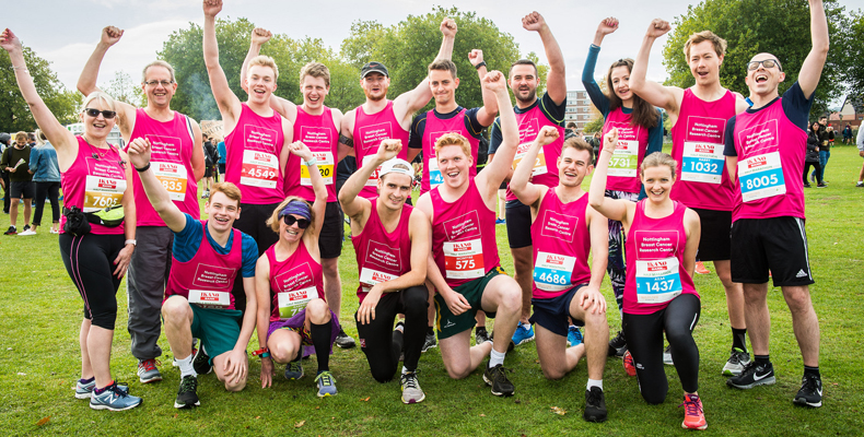 Runners for Nottingham Breast Cancer Research Centre