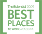 The Scientist 2009 Best Places to work Academia