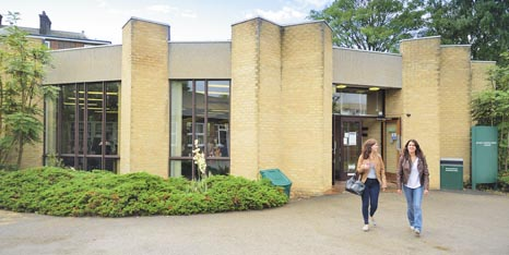 External view of James Cameron-Gifford Library on Sutton Bonington Campus