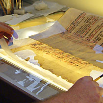 Conservation of the Wollaton Antiphonal