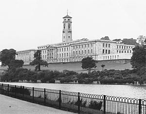 Photograph of Trent Building from the East