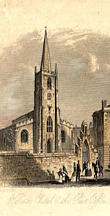 Illustration of St Peter's Church