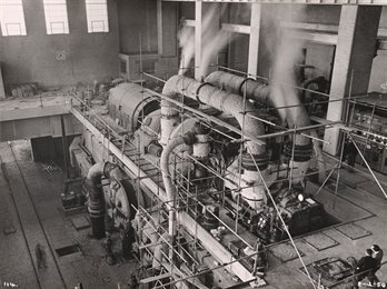 Staythorpe Power Station 1950, MS835