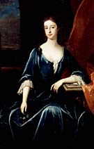 Portrait of Henrietta, Duchess of Newcastle upon Tyne