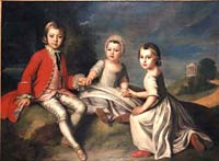 Children of the 2nd Duke of Newcastle by William Hoare