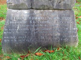 Memorial to George Chaworth Musters. © Ian Palmer 2007